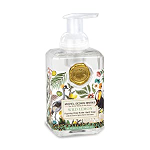 Michel Design Works Foaming Hand Soap, 17.8-Fluid Ounce, Wild Lemon
