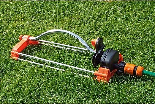 MuZhuo riego de césped Jardín Césped Automático Swing Sprinker, 180 Grados Automático Swing Sprinkler Jardín Césped Riego Agua Spray Herramienta Protector de Jardín: Amazon.es: Jardín