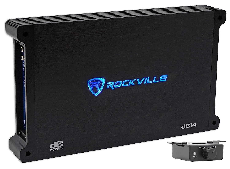 Rockville dB13 3000 Watt/1500W RMS Mono Class D 2 Ohm Amplifier Car Audio Amp