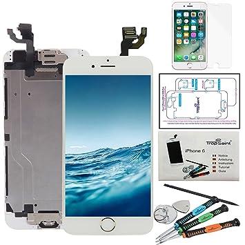 Trop Saint® Pantalla LCD Blanco para iPhone 6 Completa Premium Kit ...