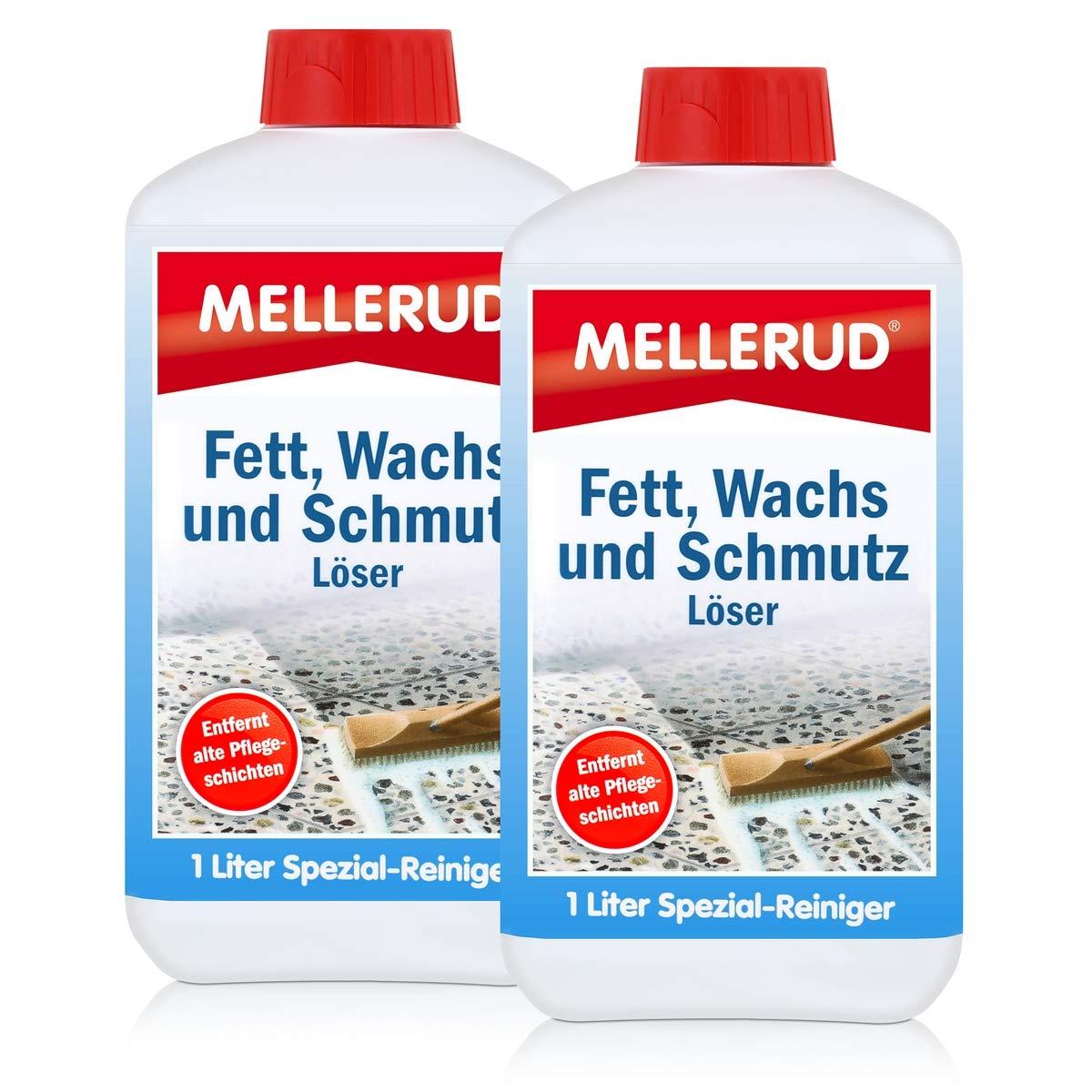 2x Mellerud Fett, Wachs und Schmutz Lö ser 1L