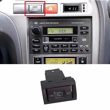 Parabrisas posterior limpiaparabrisas Interruptor Assy para Hyundai 2001 - 2006 Elantra OEM Partes: Amazon.es: Coche y moto