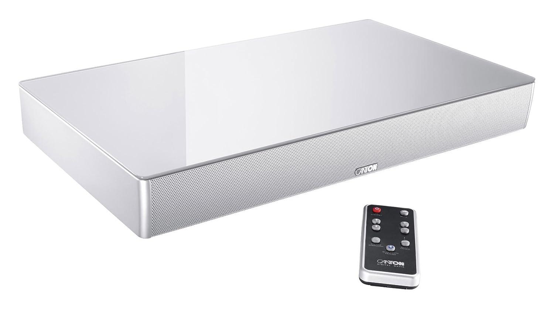 Cantón DM55 2.1 Sistema de Sonido Envolvente Virtual - Plata Cristal