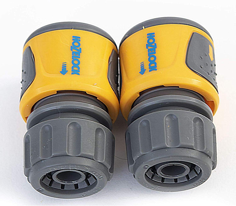 Hozelock Ltd 2070 6025 Standard Soft Touch Hose End Conn Twin Pack Hoze