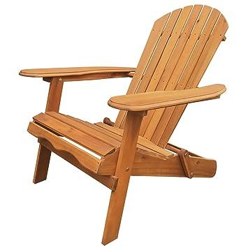 amazon com leigh country tx 36600 folding adirondack chair natural rh amazon com Swivel Patio Chairs Patio Lounge Chairs