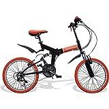 Airbike 折りたたみ自転車 ミニベロ 20インチ サスペンション付き シマノ21段変速