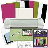 Cricut Explore Air 2 Machine Bundle Vinyl, Transfer Paper, Designs & Guide