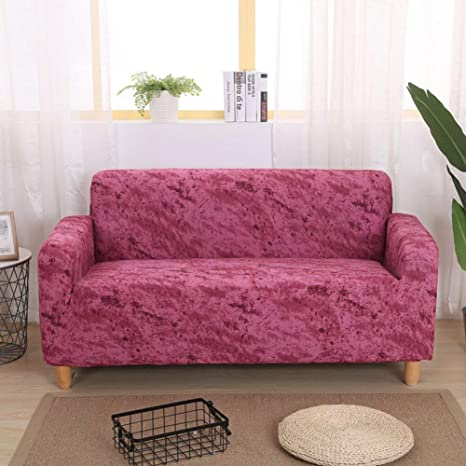 YLCJ Funda de sofá Antimanchas para 1 2 3 4 sofás tapizados ...