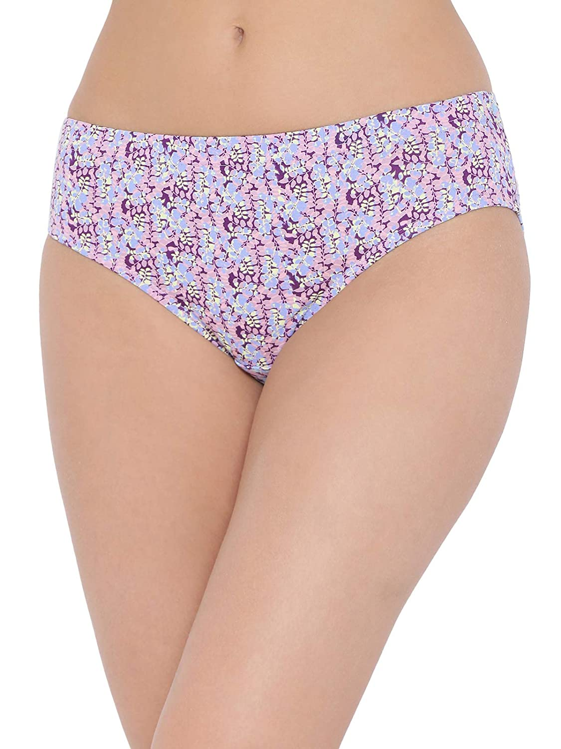 97188f6a3f0c Clovia Women's Cotton Mid Waist Floral Print Hipster Panty with Inner  Elastic: Amazon.in: Clothing & Accessories