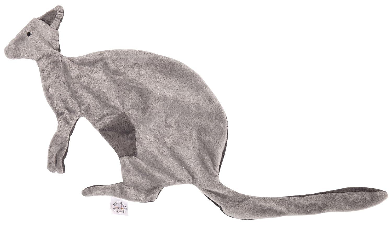 Brusse Bags & Boxes My Blankie Weiche Sicherheits-Decken Dinosaurier/Känguru, super niedlich, doppelseitig, weiches 100% Polyester-Fleece, für Neugeborene, zum Befestigen an Schnullern/Schnullern für Neugeborene