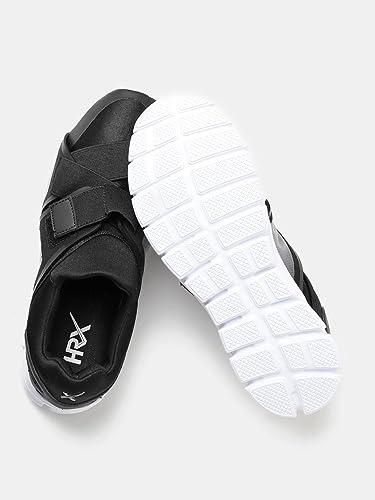 460e11089 HRX by Hrithik Roshan Men Black Casual Shoes (7UK)  Buy Online at ...