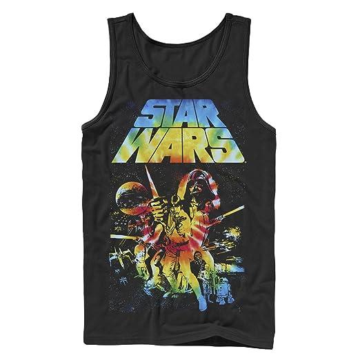 1ebb5e23f3b02 Amazon.com  Star Wars Men s Classic Tie-Dye Poster Tank Top  Clothing