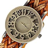 MVS Analogue Brown Dial Women's Watch -MVSA0271
