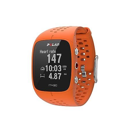 Polar M430 GPS reloj para correr. - 90064408, M/L, Anaranjado