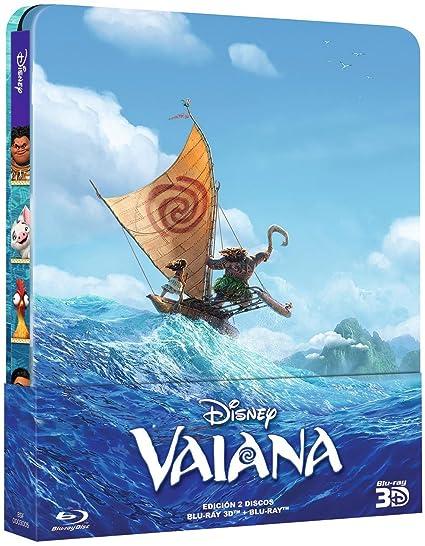 Vaiana - Edición Metálica [Blu-ray]: Amazon.es: Personajes ...