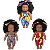 3-Sets Doll Playtime Outfits Clothes for 11 12 13 inch Baby Dolls New Born Baby Dolls Fashion Outfits Include Hair Bands…