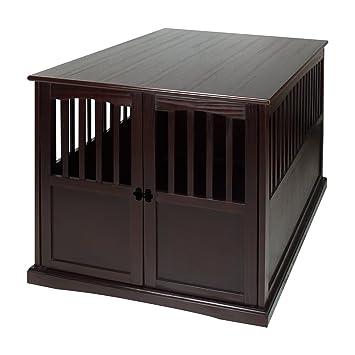 Amazon.com: Casual Home – Caja de madera para mascotas, Pino ...