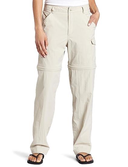 Women's Clothing WOMEN'S BEIGE CONVERTIBLE PANTS-COLUMBIA BRAND-SIZE MEDIUM