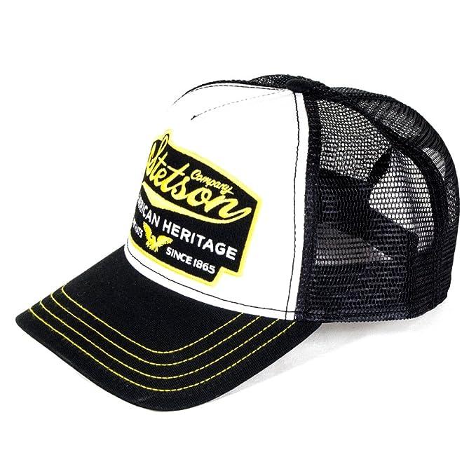 Stetson Hats - Gorra de béisbol - para Hombre Negro Negro Taille Unique: Amazon.es: Ropa y accesorios