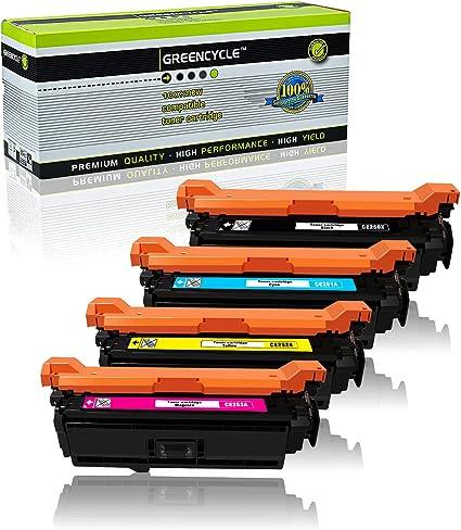 1pk CE252A Yellow Toner For HP Color Laserjet CM3530 MFP CM3530fs MFP BEST DEAL!
