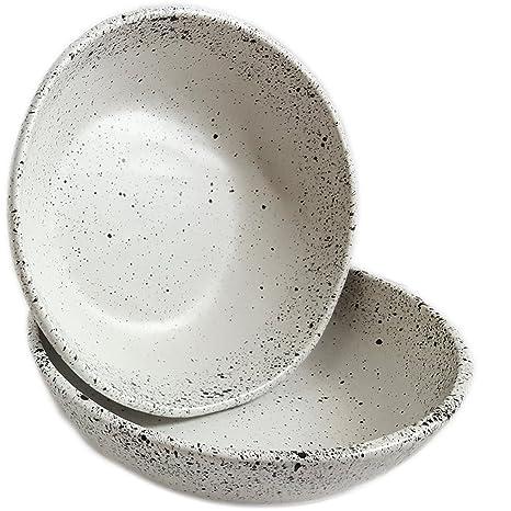 Pottery & Glass Forceful Handmade Ceramic Stoneware Bowl Volume Large