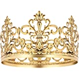 Vintage Gold Crown Cake Topper Queen Princess Cake Photo Party Baby Decor