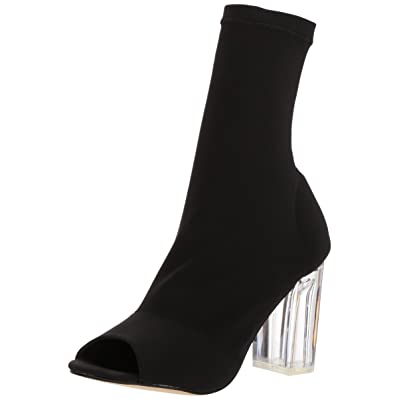 Amazon.com | 2 Lips Too Women's Too Crystal Fashion Boot | Mid-Calf