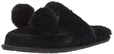 UGG Women's Hafnir Slipper, Black, 5 M US
