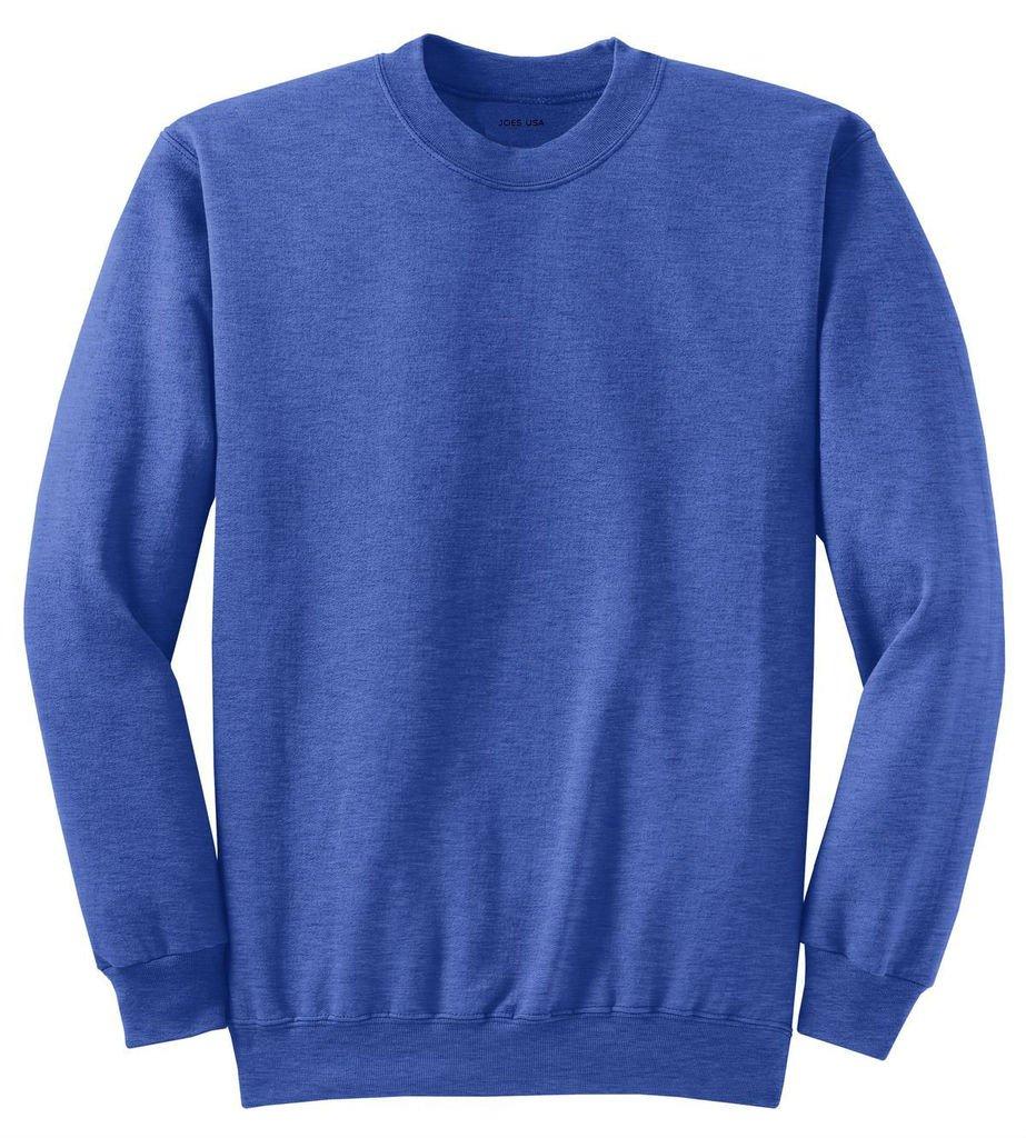 Joe's USA Adult Classic Crewneck Sweatshirt, S