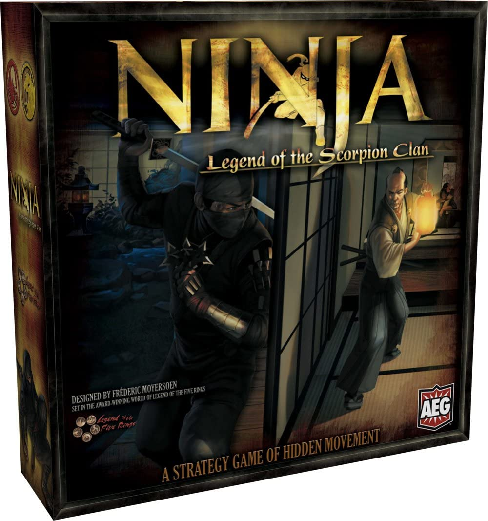 Alderac Entertainment Group Ninja Legend of The Scorpion