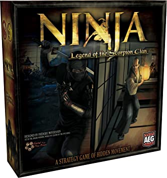 Alderac 5401 - Juego de Mesa Ninja: Legend of The Scorpion ...