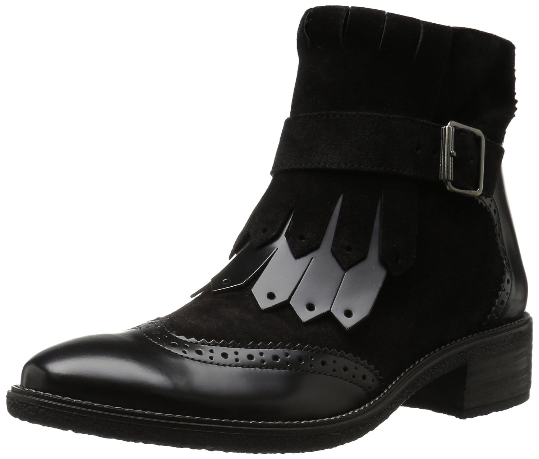 Paul Green Women's Miller Ankle Boot B06XPK6JZB 6.5 B(M) US|Black Combo