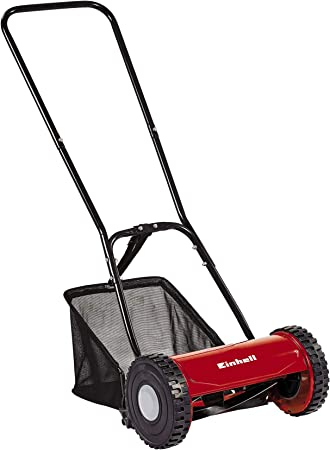 Einhell GC-HM 30 Manual - The Best Manual Push Lawnmower for Stripes