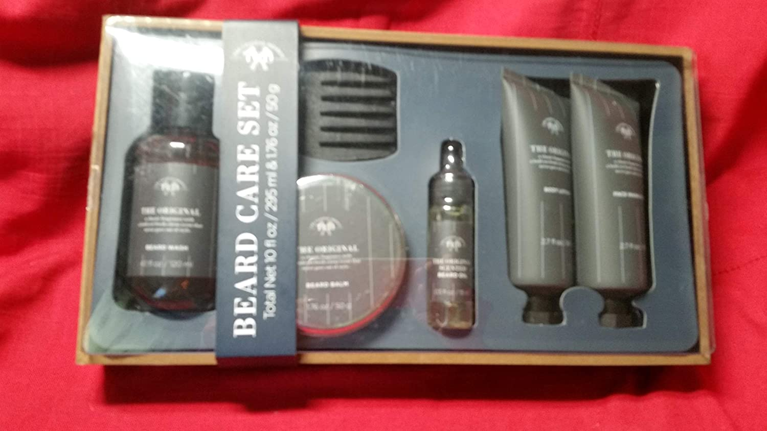 Amazoncom Tri Coastal Design Mens Beard Care Set Milagu Black 6