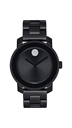 3241a5c7e Image Unavailable. Image not available for. Color: Movado Women's BOLD  Ceramic Watch ...
