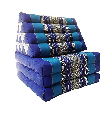 Colchón de meditación tailandés tradicional reclinable, con ...