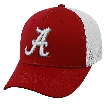 Top of the World NCAA-Ranger Trucker Mesh-Adjustable Snapback Hat  Cap-Alabama 5605fc3cdccd