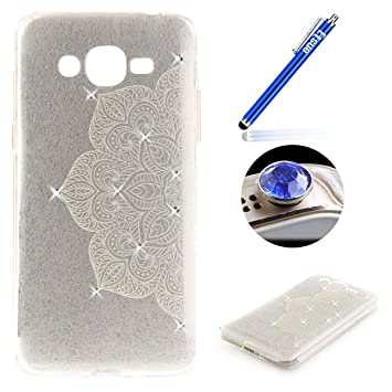 Samsung Galaxy J2 Prime Clear Slicone Case Phone Case Amazon Co Uk