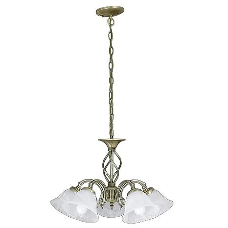 Edle iluminación de estilo juvenil 1/4/741 lámpara lámpara ...