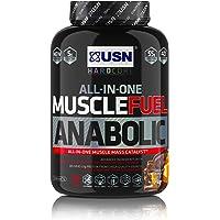 USN Muscle Fuel Anabolic Muscle Gain Shake Powder, Chocolate Orange, 2 kg