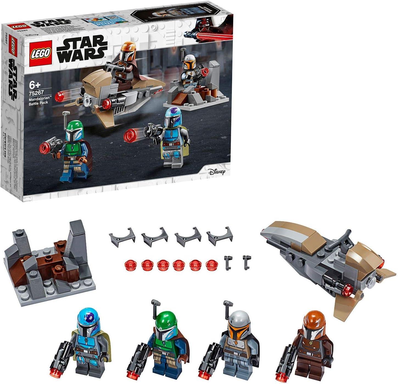 LEGO Star Wars - Pack de Combate: Mandalorianos, Juguete Basado en ...