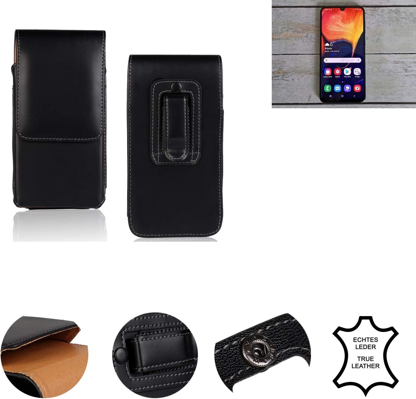 K-S-Trade/® Handyh/ülle F/ür Samsung Galaxy A70 G/ürteltasche Holster Handytasche G/ürtel Tasche Schutzh/ülle Robuste Handy Schutz H/ülle Tasche Outdoor Schwarz