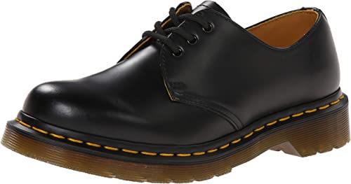 Dr. Martens Women's 1461 W Three Eye Oxford Shoe