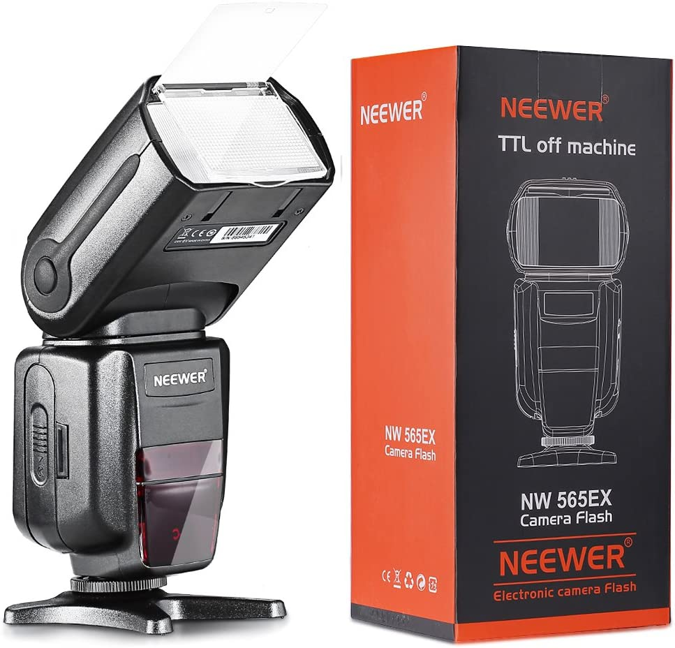 Neewer 10079838 Nw 565 Exn I Ttl Slave Speedlite Flash Kamera