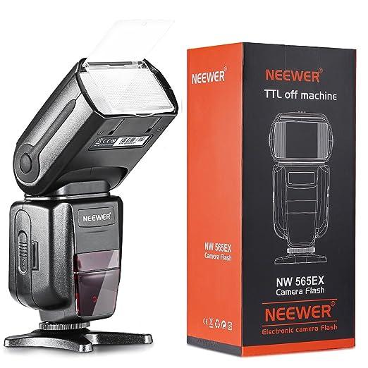 184 opinioni per Neewer NW-565EX-C-TTLSlave Flash Speedlite con Flash Diffusore per Canon e altri