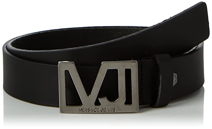 Versace Jeans E77242, Ceinture Homme, Noir (Nero), 110  Amazon.fr ... fd4a5e35eba