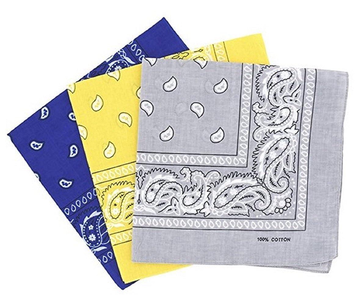 PURECITY© Bandana Original Paisley Motif Cachemire Foulard Pur Coton  Qualité Supérieure Vendu par Lot - 55cm x 55 ... dc1a9e1a2e6