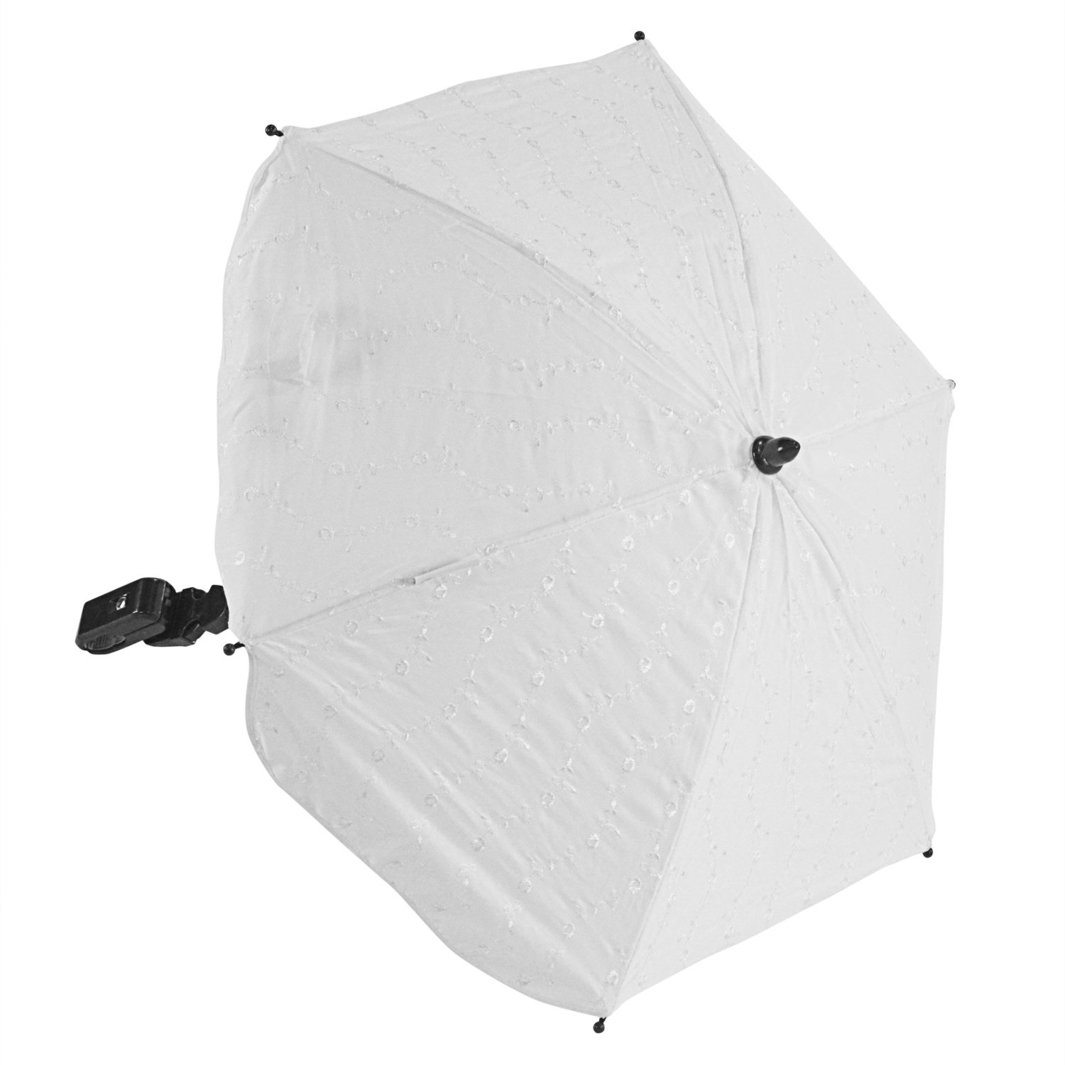 For-Your-Little-One BA Parasol Compatible with Bebecar IP Op Evolution White