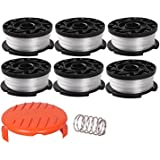 """Thten String Trimmer Spool Replacement for Black and Decker AF-100, 30ft 0.065"""" Refills Line Auto Feed Single Weed Eater…"""