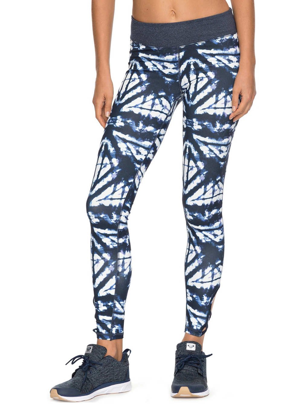 Roxy Ladies Natural Twist Leggings - Blue